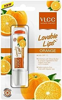 VLCC Lovable Lips Lip Balm Orange, 4.5gm