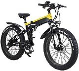 Bicicletas Eléctricas, 26' Montaña de bicicleta eléctrica plegable for adultos, 500W vatios de motor 21/7 plazos de envío Shift Bicicleta eléctrica for la ciudad de Tráfico de ciclo al aire Trabajar e