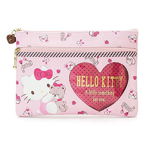 Marushin Sanrio platte tas met hartvorm (Hello Kitty) 590550