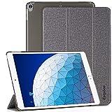 EasyAcc Hülle für iPad Air 3, Ultra Dünn Transluzent Matt Rückseite Abdeckung mit Auto...