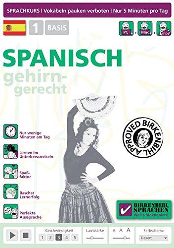 Birkenbihl Sprachen : Spanisch gehirn-gerecht, 1 Basis [import allemand]
