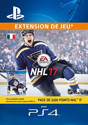 Pack de 2200 NHL 17 Points [Code Jeu PSN PS4 - Compte français]
