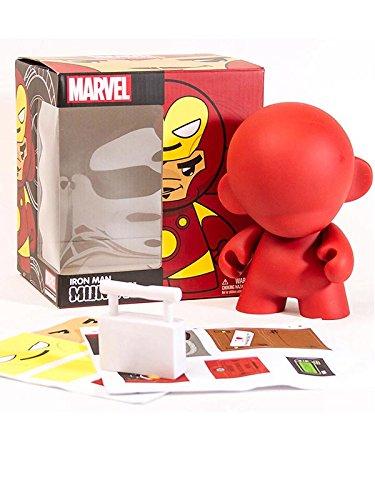 Kidrobot Marvel MUNNY: Ironman Action Figur