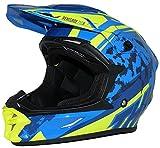 Protectwear casco cruzado casco de enduro modelo azul amarillo R710X-XL