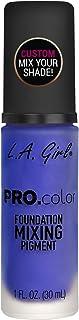 L.A. Girl Pro Matte Mixing Pigment, Blue, 1 Fluid Ounce