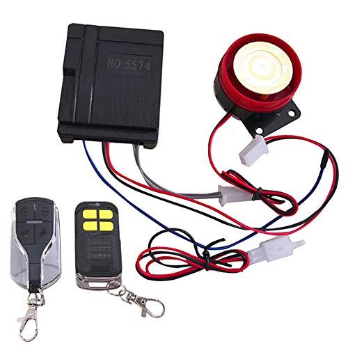Bedrade Mini Siren - Auto Beveiliging Alarm Systeem voor Motorfiets Beveiliging Alarm Systeem Anti-diefstal Hoorn Siren 125dB 12V