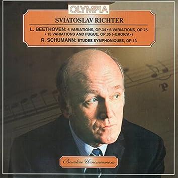 Richter plays Beethoven & Schumann