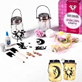 Fairy Lantern Craft Kit DIY [2 Pack] Fairy Night Lights - Art Crafts for Girls Party - Children Toy Gift Set Kits - Craft for Girls Ages 8-12 - Fairy Lights Mason Jar Project Idea