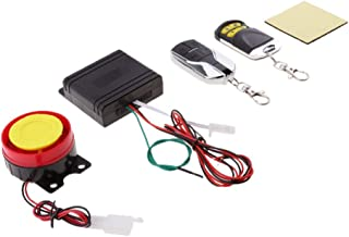 12V Motorcycle Anti-Theft Alarm Security System Remote Control Kit Adjustable Shock Sensor Remote Control Motorcycle Parts
