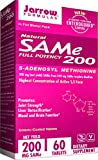 Jarrow Formulas SAM-e, Promotes Joint Strength, Liver Detoxification, 200 mg, 60 Enteric-Coated Tabs