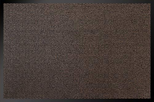 ID Mate 8012010 Cahors/Florac Alfombra-Felpudo Fibra de Polipropileno y PVC, marrón, 0,67 x 120 x 80 cm