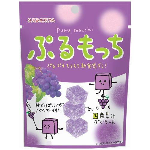 杉本屋 ぷるもっち ぶどう味 42g×10個 [2434]