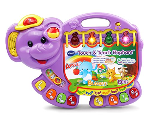 VTech Touch and Teach Elephant, Purple...
