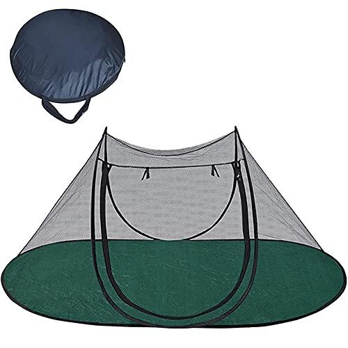 Cyhamse Tenda pieghevole per animali domestici, tenda per gatti, pop-up, tenda per la terrazza, il veranda, il cortile, il balcone e i viaggi di camper
