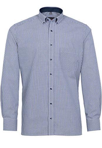 ETERNA chemise style moderne col boutonné patch 4176 x145/19