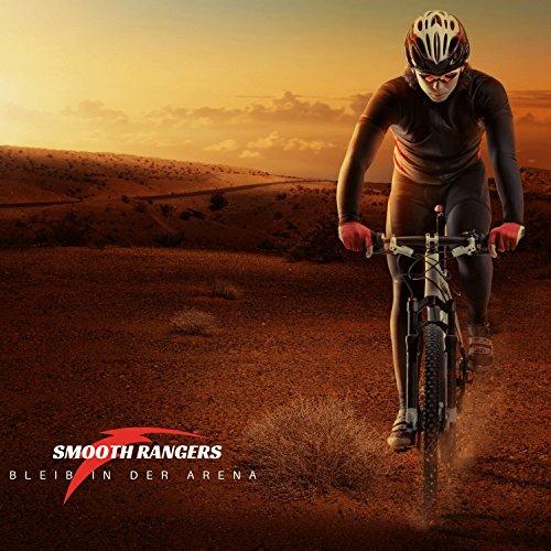 Smooth Rangers – Fahrrad Reparaturset in Tasche, Multitool & hochwertige Alu Mini Luftpumpe sowie Reifenheber, Selbstklebende Flicken inkl, Sorglos-Paket für Ihren nächsten Radtouren - 4