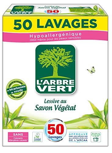 L'Arbre Vert Lessive Poudre, 2,5Kg