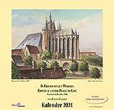 Alt-Erfurt Kalender 2021 Jürgen Valdeig 30 Jahre Kunstkalender Thüringen
