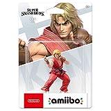 CQ Super Smash Bros. Amiibo: Ken Figurita!Figura de acción de la Serie Super Smash Bros. Juego Obra Maestra Figura Coleccionable de importación de Japón (Wii U / 3DS / Switch) Toys