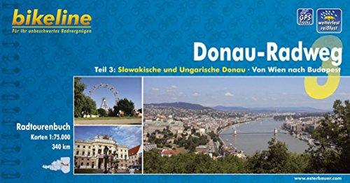 bikeline Radtourenbuch: Donau Radweg Teil 3: Slowakische und Ungarische Donau. Von Wien nach Budapest. 1:75.000, GPS-Track Download