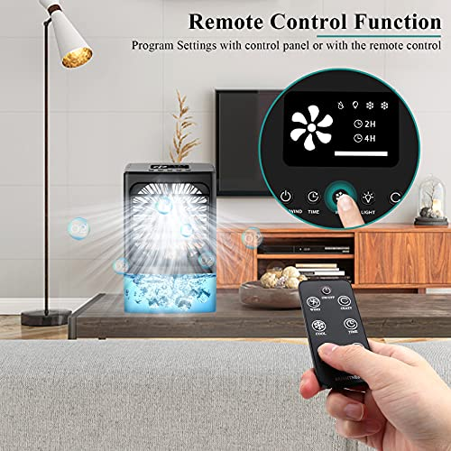 OYRGCIK Mini Air Conditioner With Remote Control Product Image