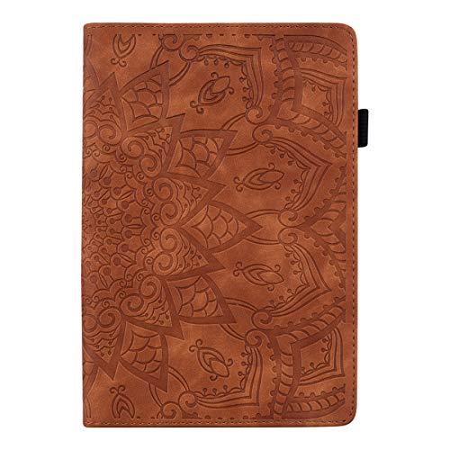 Lspcase Schutzhülle für Huawei Mediapad M5 Pro/M5 10 10.8 Zoll Leder Hülle Stand Flip Cover Brieftasche Tablet Hülle mit Stifthalter for Huawei Mediapad M5 10 10.8