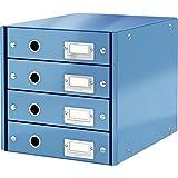 LEITZ 60490036 - Buc de 4 cajones (290x283x360 mm) color azul