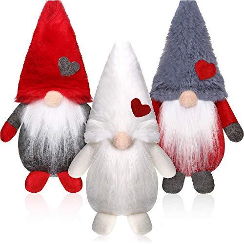 3 Pezzi Natale Seduto Babbo Natale Pupazzo di Neve Renna Natale Ornamento Gambe Lunghe Tavolo Camino...