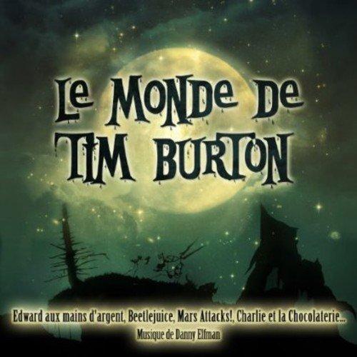 Le monde de Tim Burton en CD