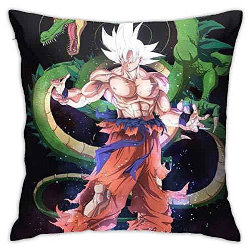 tour Dragon Ball Z Cotton Pillow Throw Cushion Cover Case Home Decoration Fundas para Almohada 26x26Inch(65cmx65cm)