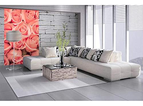 Vlies Fotobehang ROZEN | Niet-Geweven Foto Mural | Wall Mural - Behang - Reusachtige Wandposter | Premium Kwaliteit - Gemaakt in de EU | 150 cm x 250 cm