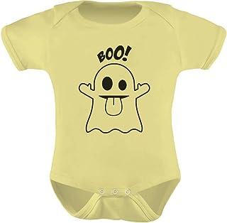 Tstars - Baby Boo Ghost Costume Outfit Cute Halloween Bodysuit Baby Bodysuit