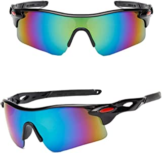 Mike Sport Sunglasses for Men Women Cycling Running Driving Fishing Climbing with UV400 Protection Durable Frame Pack Of 2