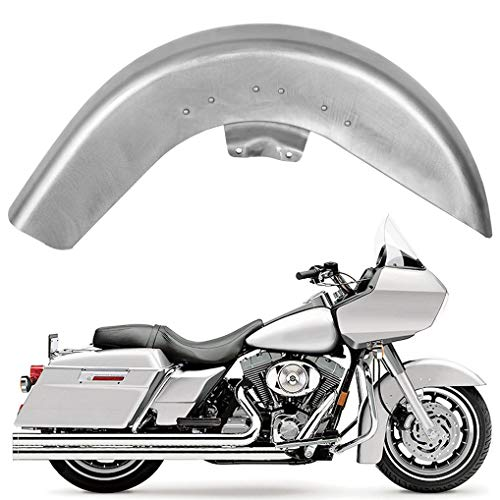 ECOTRIC Front Fender Steel Compatible with 1989-2013 Harley Touring Electra Street Road Ultra Glide Road King