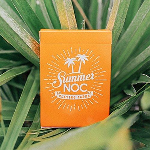 NOC sommardäck (begränsad utgåva) – spelkort av den blå kronan (orange)