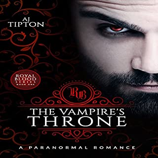 The Vampire's Throne audiobook cover art