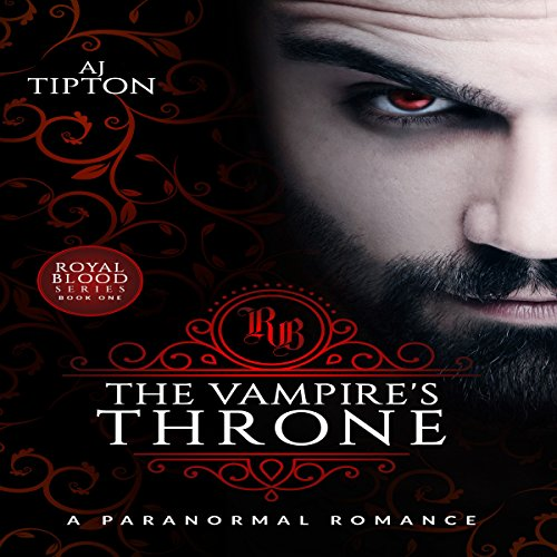 The Vampire's Throne audiobook cover art
