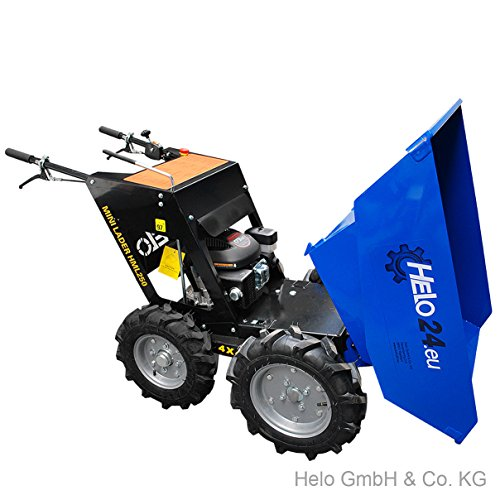 HELO Mini Dumper HML 250-N, motorisiert, allrad-angetrieben, mit 250 kg Trägermulde - 5