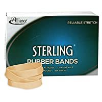 Alliance Sterling Rubber Band Size #94 (3 1/2 x 3/4 Inches) - 1 Pound Box (Approximately 140 Bands per Pound) (24945)