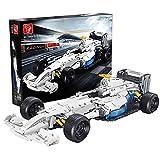 Morton3654Mam 1682 piezas 1:8 escala 1:8 coche deportivo vehículo de carreras MOC bloques de construcción juguete compatible con Lego