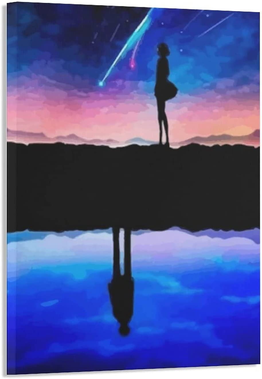 Your Name Spasm price Anime Cheap PosterPosters Canvas Wall Living Room k Painting