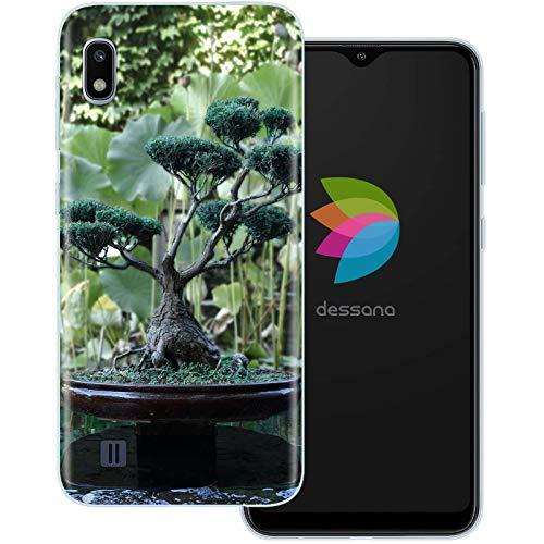 dessana Bonsai transparante beschermhoes mobiele telefoon case cover tas voor Samsung Galaxy A10 Bonsai boom