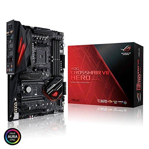 ASUS ROG Crosshair VII Hero (Wi-Fi) AMD Ryzen 2 AM4 DDR4 M.2...