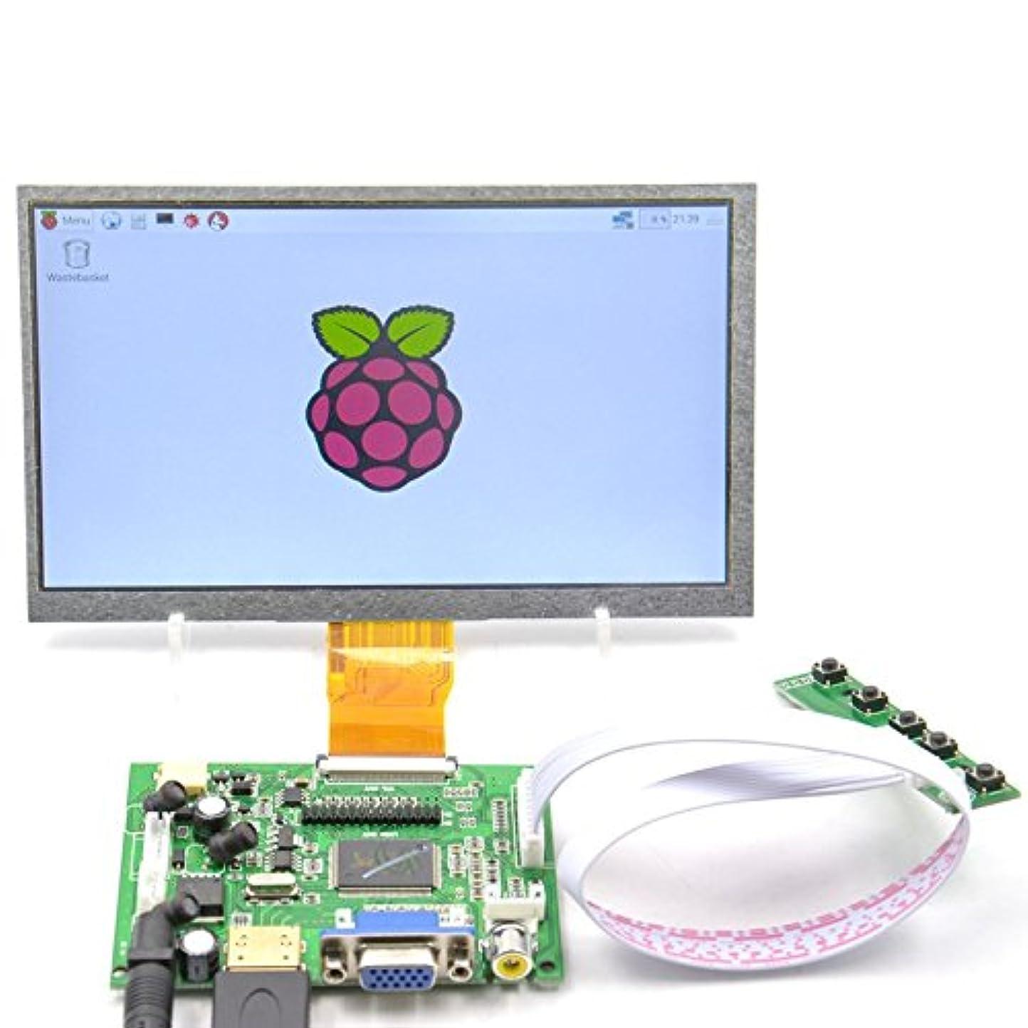 回転するトロリーバスフローGeeekPi 7インチ1024x600 HDMIスクリーン液晶ディスプレイfor Raspberry Pi ラズベリーパイ