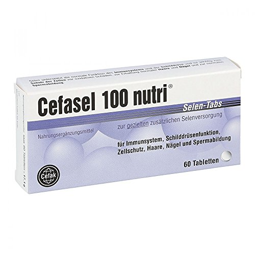 Cefasel 100 nutri Selen-Tabs, 60 St. Tabletten