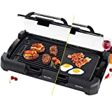 Secura Smokeless Indoor Grill 1800-Watt Electric Griddle with...