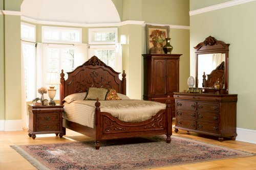 Hot Sale Isabella Bedroom Collection Solid Hardwood Night Stand