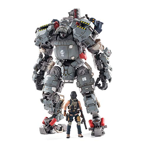 Xshion Juego de figuras de soldados Mecha de 1/25, militares, figuras de acción con armas, figuras de acción Mecha, figuras de...