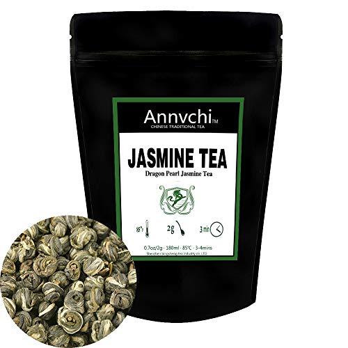 Te Verde Jazmin (75 Tazas) - Jasmine Perlas Té Verde - Perla Del Jazmín China - te jazmin chino - 150g