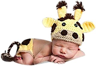 Newborn Photography Props Baby Boy Girl Photo Outfits Costumes Milk Cow